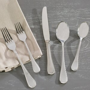 Carlyle Sand 62 Piece Flatware Set
