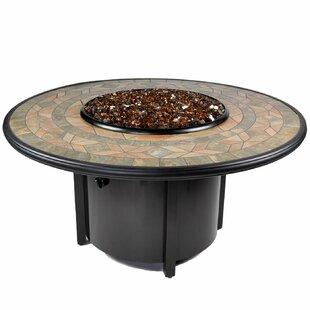 Tretco Venice II Aluminum Propane Fire Pit Table