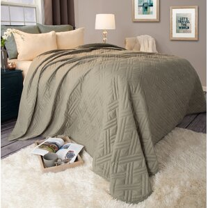 Modern & Contemporary Quilts & Coverlets You'll Love | Wayfair : bedroom quilts - Adamdwight.com