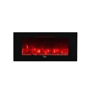 Blackwell Wall Mounted Electric Fireplace Insert by Ivy Bronx