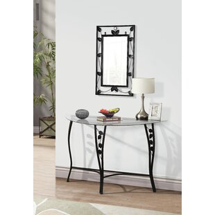 Fletcher Console Table and Mirror Set  sc 1 st  Wayfair & Console Table Mirror Set | Wayfair