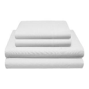 Robinson Stripe Herringbone 200 Tread Count 100% Cotton Sheet Set