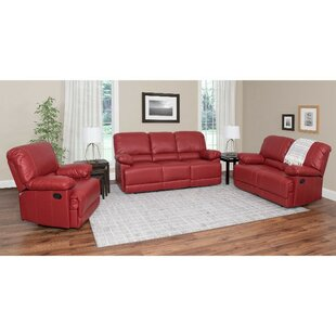 Compare Condron Reclining 3 Piece Living Room Set by Red Barrel Studio Reviews (2019) & Buyer's Guide