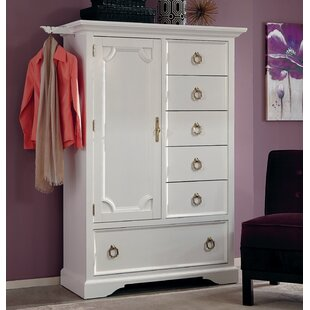 Affordable Price Fazeley 6 Drawer Gentleman's Chest by House of Hampton