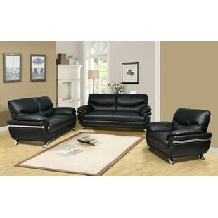 Beverly Fine Furniture Liam 3 Piece Living Room Set