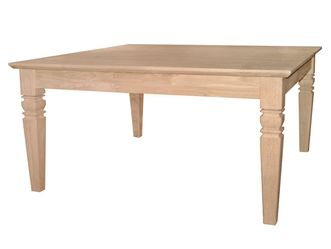 rosecliff heights lowell unfinished wood coffee table ii  reviews  - defaultname