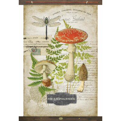 August Grove Mushrooms Tapestry