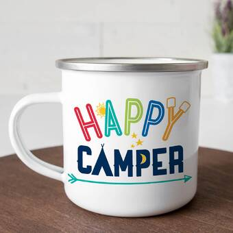 Millwood Pines Millbrook Personalized Camping Mug Wayfair
