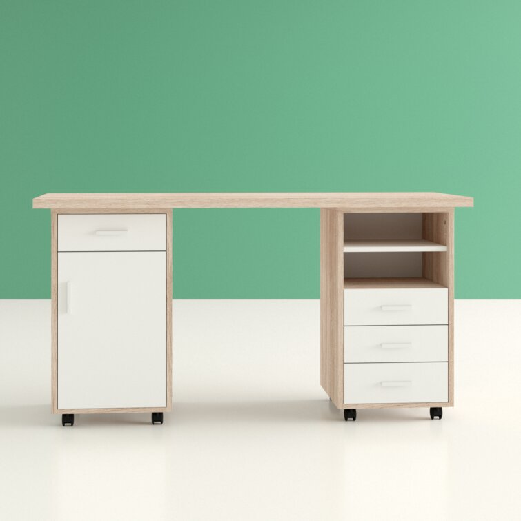 Hashtag Home Cowell Desk, Storage Cabinet and Filing Cabinet Set