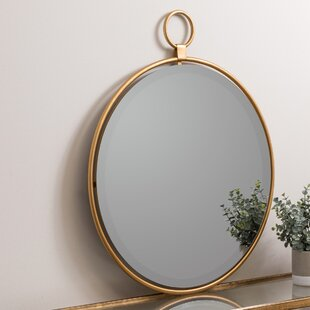 Coupon Round Accent Mirror ByDarby Home Co