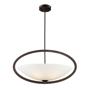 Ebern Designs Hamden 5-Light Bowl Pendant