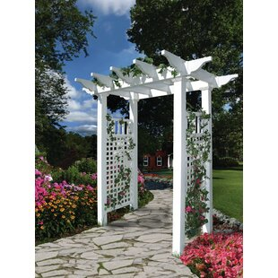 New England Arbors Fairfield Vinyl Arbor