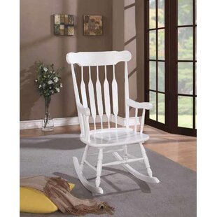August Grove Hemphill Rocking Chair