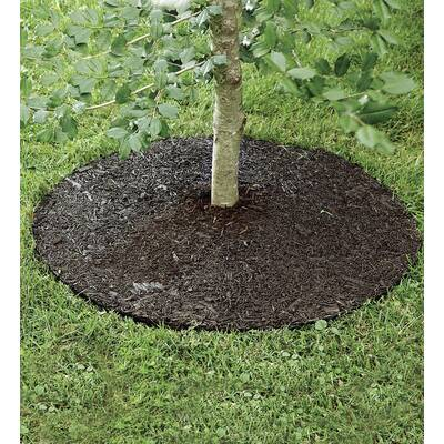 Gardening Supplies Search For Flights 24 Inch Tree Ring Red Recycled Rubber Weed Control Maintenance Free Landscaping