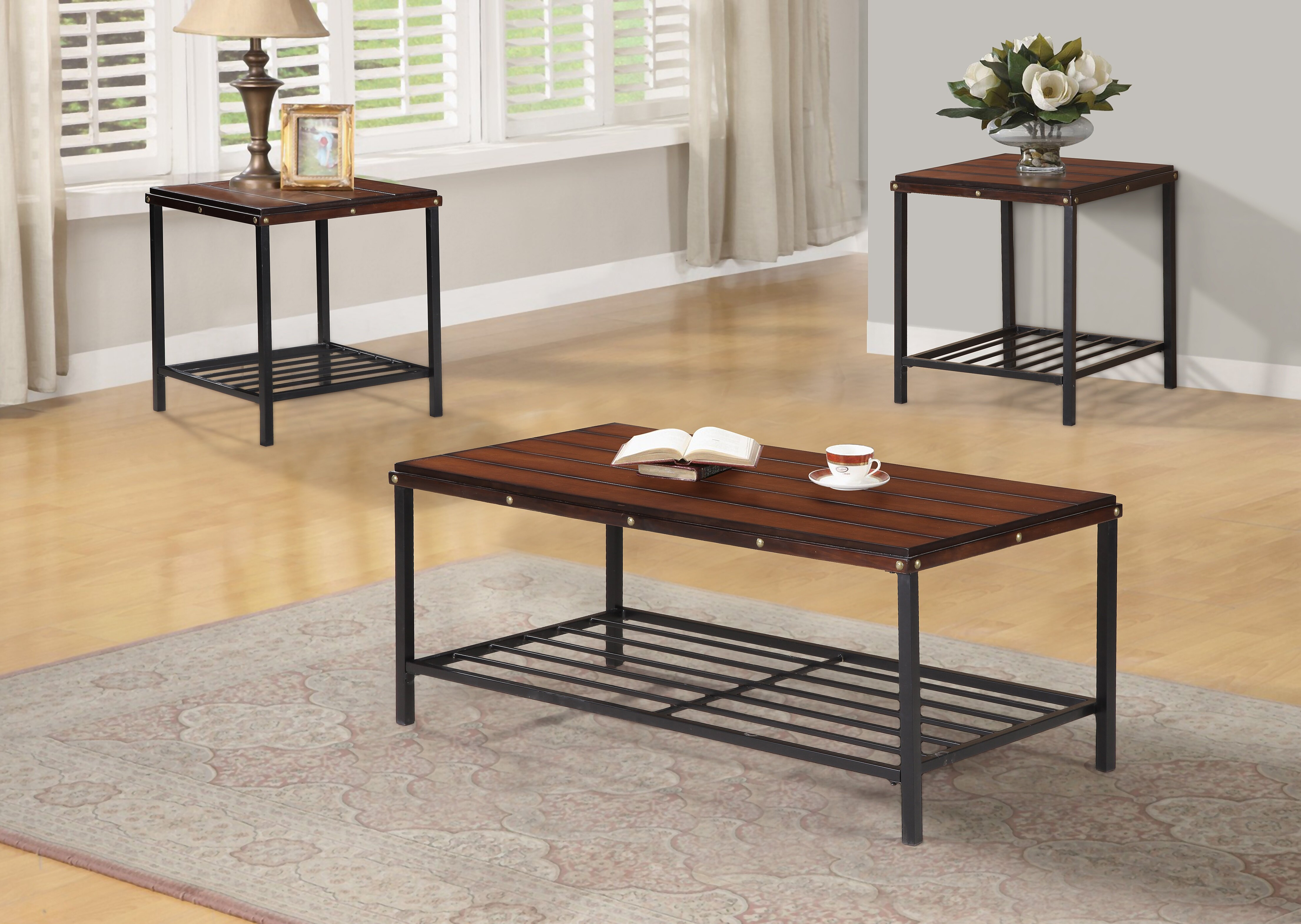 Fabulous Sebring 3 Piece Coffee Table Set Caraccident5 Cool Chair Designs And Ideas Caraccident5Info