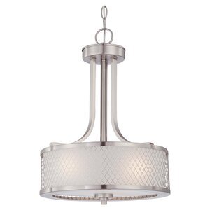 Lofton 3-Light Drum Pendant