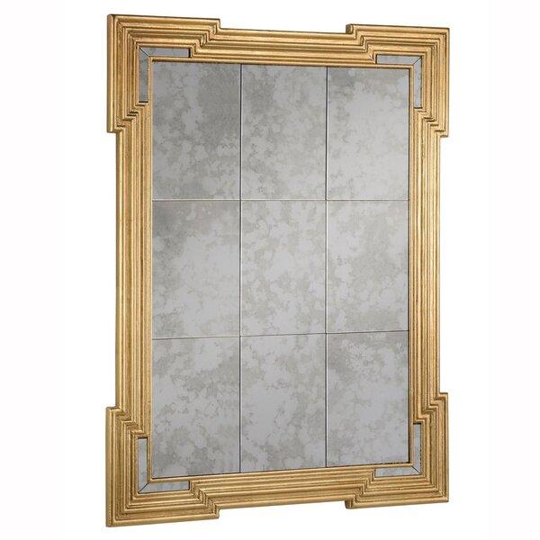 brass frame mirror wayfair