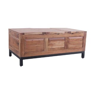 Ridings Chest Trunk Coffee Table by Loon Peak Great price