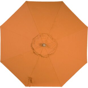Wiebe 9' Market Sunbrella Umbrella by Breakwater Bay No Copoun