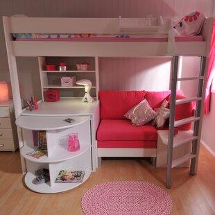 Astonishing Bunk Bed With Desk And Sofa Wayfair Co Uk Machost Co Dining Chair Design Ideas Machostcouk