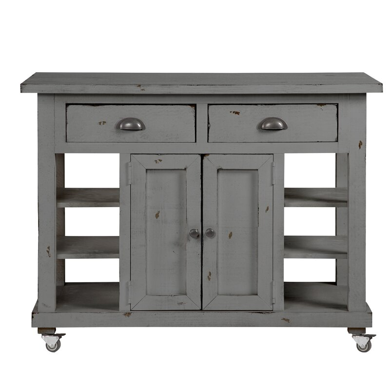 Benedetto Kitchen Island with Door