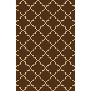 Beauchamp Square Brown Area Rug