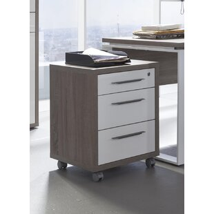 Disegno 3 Drawer Filing Cabinet By Ebern Designs