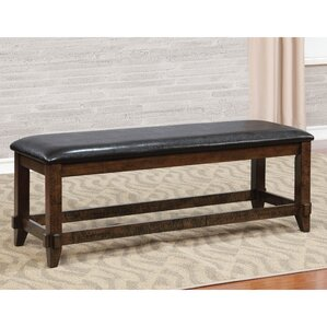 Electra Upholstered Bench by Loon Peak