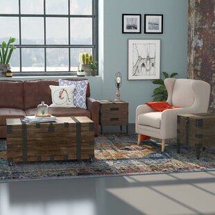17 Stories Claude 3 Piece Lift Top Coffee Table Set