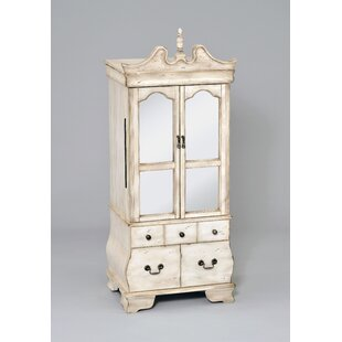 Buying Simoneau Free Standing Jewelry Armoire with Mirror By Astoria Grand