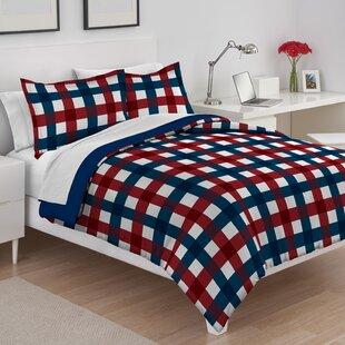 Buffalo Plaid Reversible Comforter Set by IZOD