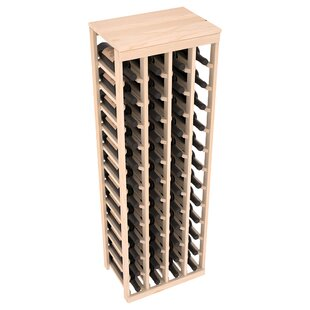 Karnes Pine 48 Bottle Floor Wine Rack by ..
