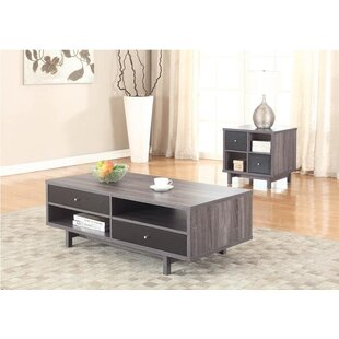 Best Deals Highline 2 Piece Coffee Table Set By Ivy Bronx
