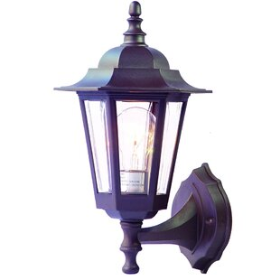 Mishra Traditional 1-Light Outdoor Sconce