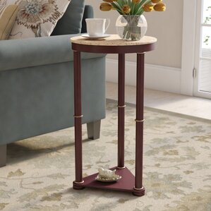Greenmeadow End Table by Charlton Home