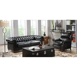Rector 2 Piece Leather Sofa Set By Williston Forge