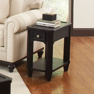 Buy clear Yancy Chairside Table By Darby Home Co