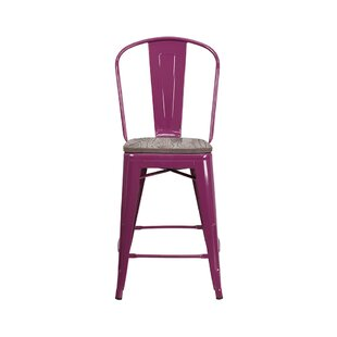 Valarie 24 Bar Stool by Williston Forge Savings