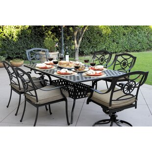 Thompsontown 7 Piece Dining Set with Cushion