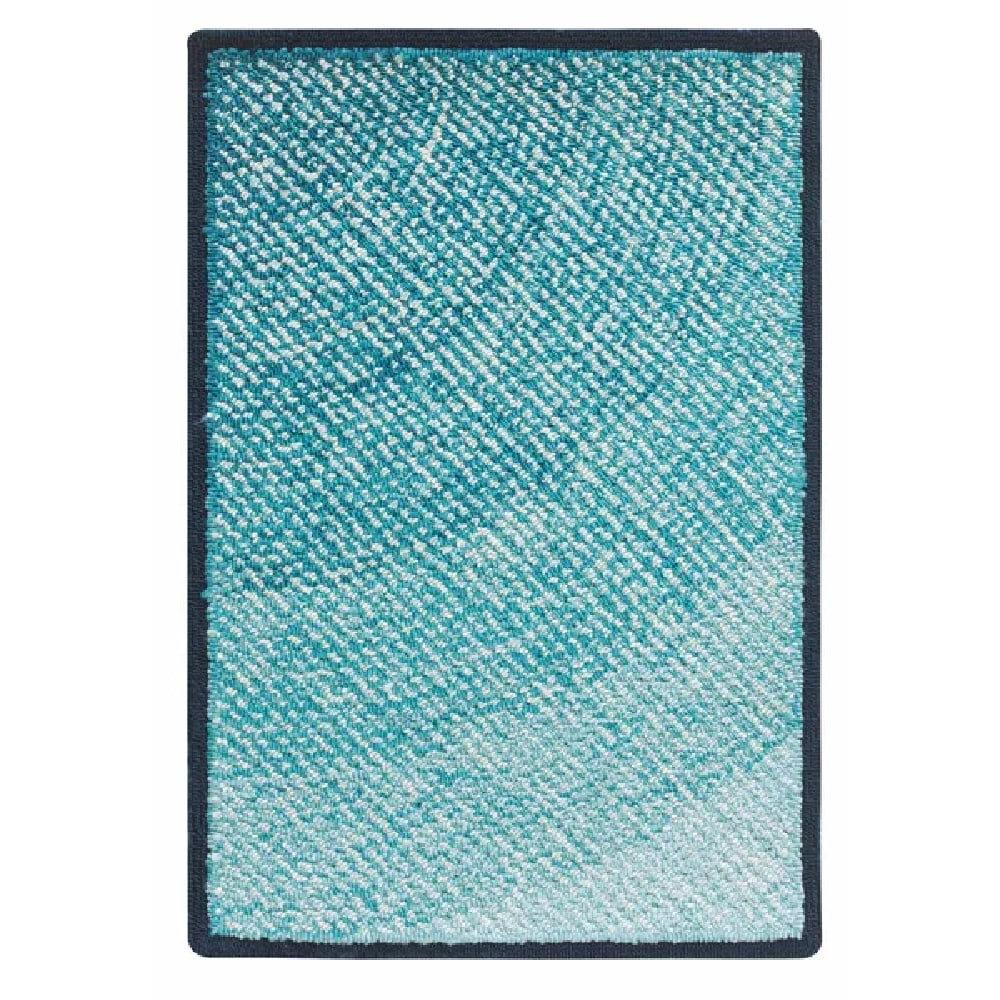 Companyc Infinity Hand Hooked Blue Area Rug Reviews Wayfair