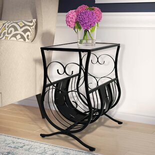 Best Reviews Whipton Magazine End Table By Fleur De Lis Living