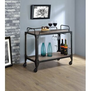 Salyer Bar Cart by Williston Forge