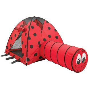 Find the perfect LadyBug Play Combination Play Tunnel with Carrying Bag ByPacific Play Tents