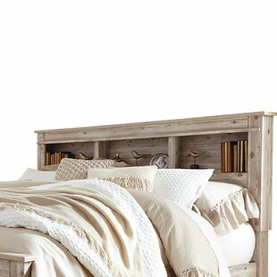 Emmanuelle Bookcase Headboard by Gracie Oaks