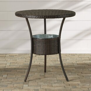 Mattison Wicker Bar Table