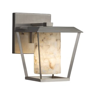 Inexpensive Conovan 1-Light Outdoor Sconce By Rosecliff Heights