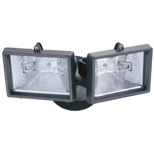 150-Watt Outdoor Security Flood Light by Lithonia Lighting