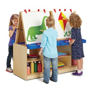 Online Reviews Thrifty KYDZ Double Sided Board Easel ByJonti-Craft