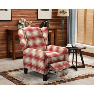 Reinhardt Wingback Manual Recliner by August Grove