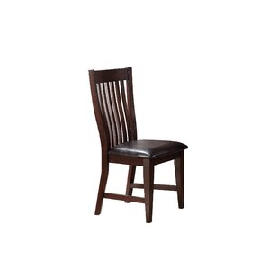 Seiling Upholstered Dining Chair (Set of 2) Loon Peak